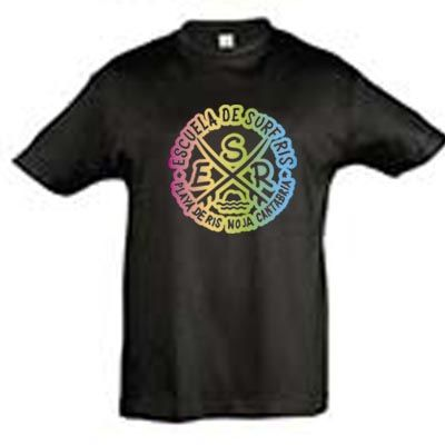Ts Jr Rainbow Negro 6XS